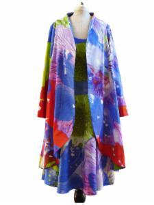 Mantel mit Kleid